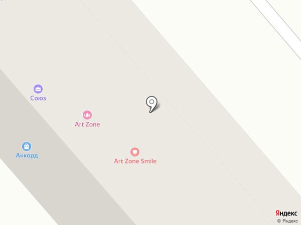 Art Zone на карте Кургана