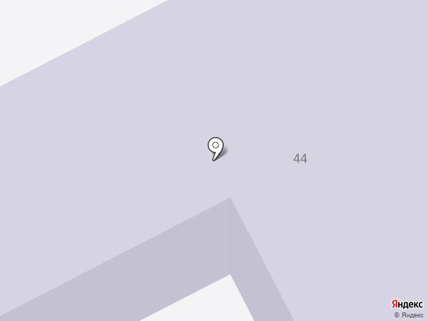 Средняя общеобразовательная школа №36 на карте Кургана
