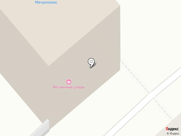 Москва, ЗАО на карте Кургана