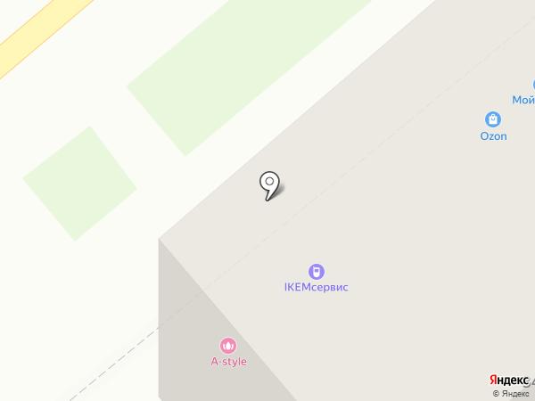 Сушитория на карте Кургана
