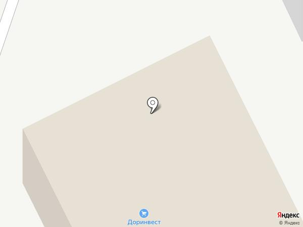 Доринвест на карте Кургана