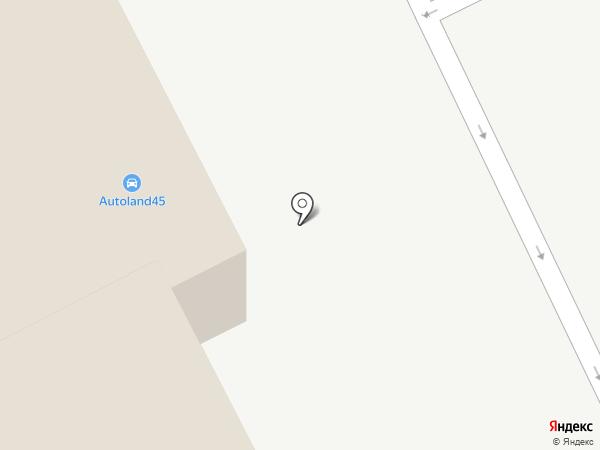 Челси на карте Кургана
