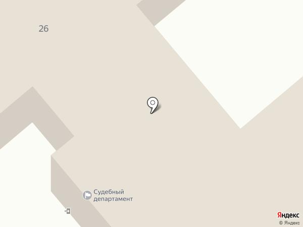 Управление Судебного департамента в Курганской области на карте Кургана
