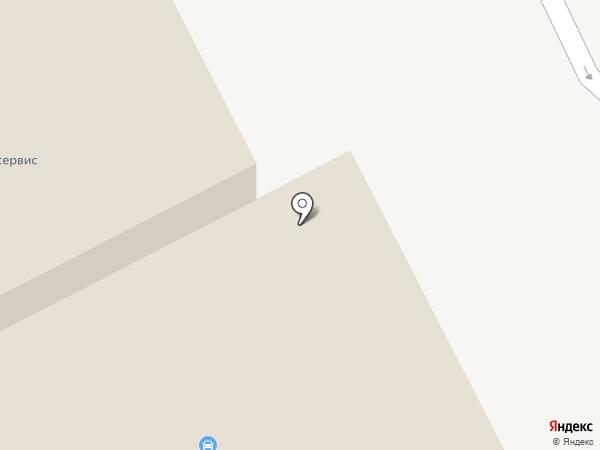 Автолэнд на карте Кургана