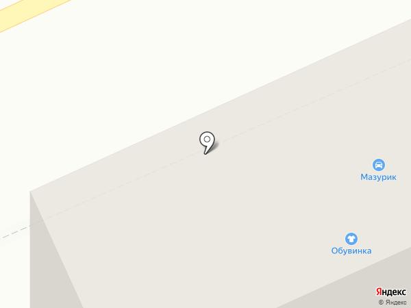 Нарядный на карте Кургана