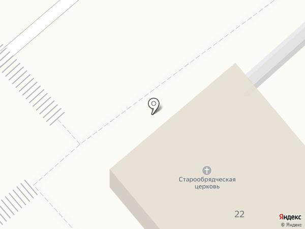 Старообрядческая поморская община на карте Кургана