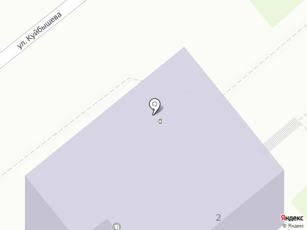 Детская музыкальная школа №1 на карте Кургана