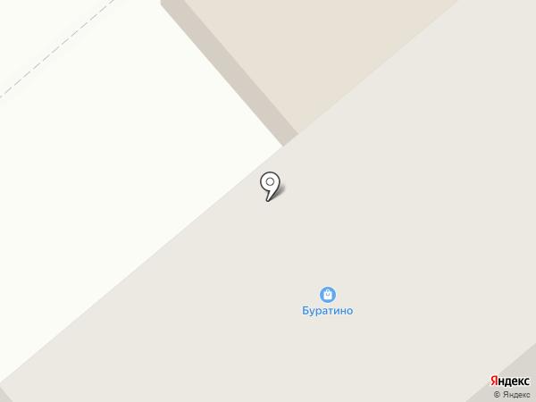 Буратино на карте Кургана