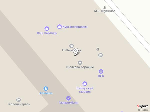 Грин Хоум Эко на карте Кургана