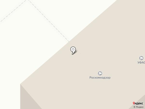 Уральское Управление Федеральной службы по экологическому, технологическому и атомному надзору на карте Кургана