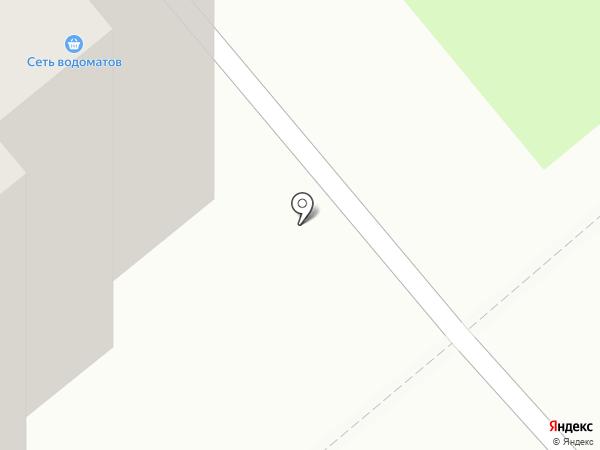 Сеть водоматов на карте Кургана