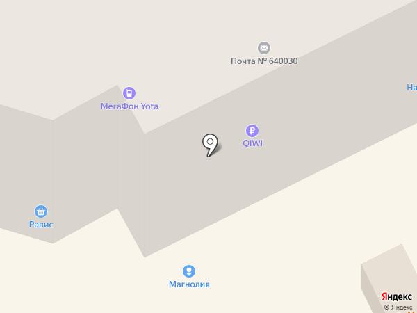 Агрофирма Магнолия на карте Кургана