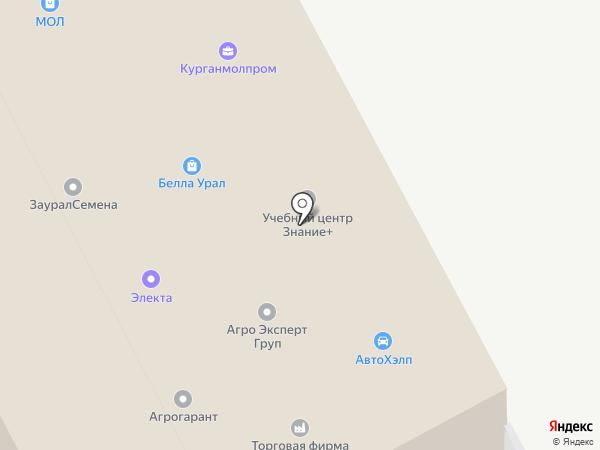 Пандора на карте Кургана