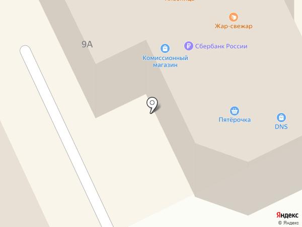 Курган-Финанс на карте Кургана