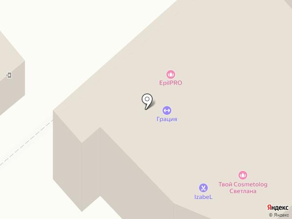 Грация на карте Кургана
