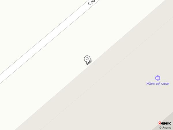 Зауральская этк на карте Кургана