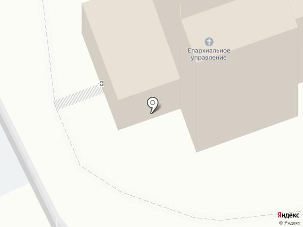Приход Александра Невского Кафедрального собора г. Кургана Курганской епархии русской православной церкви на карте Кургана