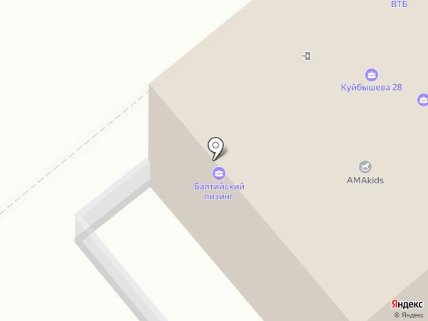 Корпорация недвижимости Имидж на карте Кургана