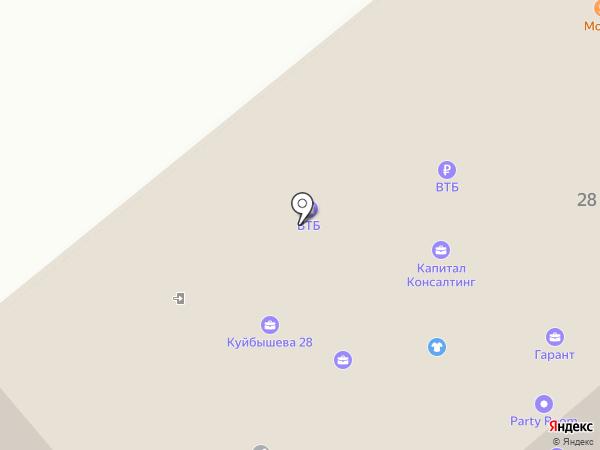 Банк ВТБ 24, ПАО на карте Кургана