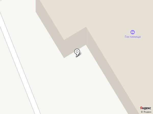 Мини-гостиница на карте Кургана