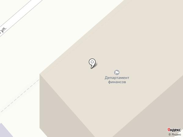 Департамент финансов на карте Кургана