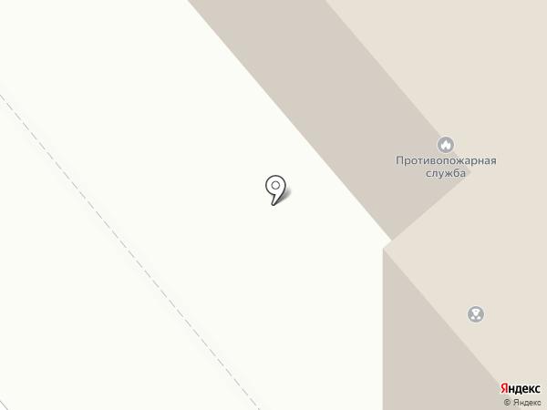 Противопожарная служба Курганской области на карте Кургана