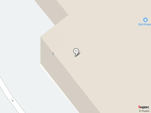 ДСМ на карте Кургана