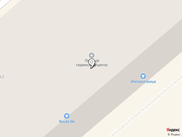 Императрица на карте Кургана