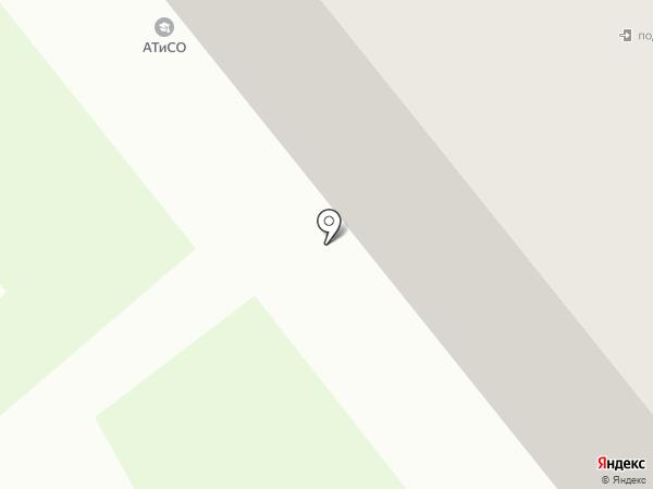 Академия труда и социальных отношений на карте Кургана