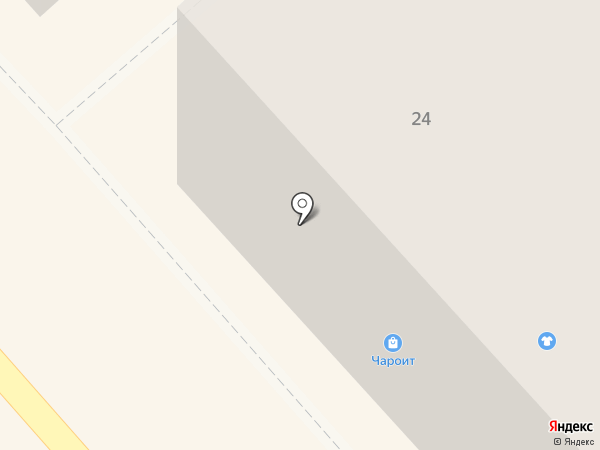 Чароит на карте Кургана