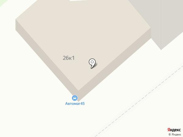 Isnext.ru на карте Кургана