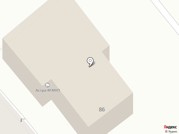 Астра-М, МУП на карте Кургана