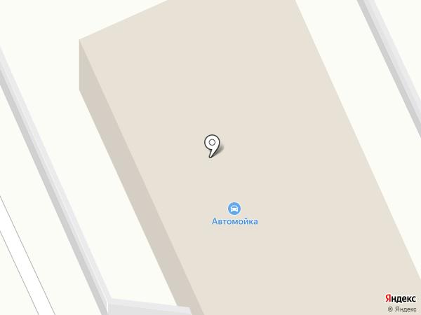 Автомойка на Дзержинском кольце на карте Кургана
