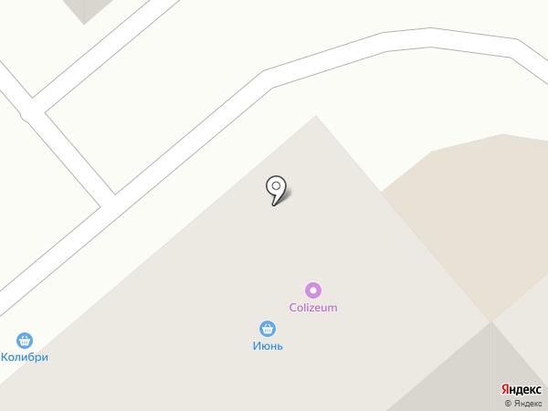 Магазин фруктов и овощей на карте Кургана