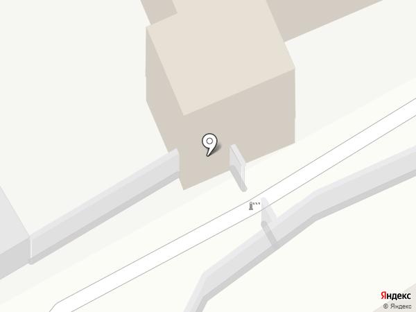 Комплекс саун №1 на карте Кургана