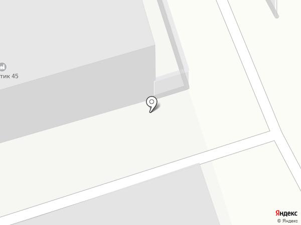Курганавтолайт на карте Кургана