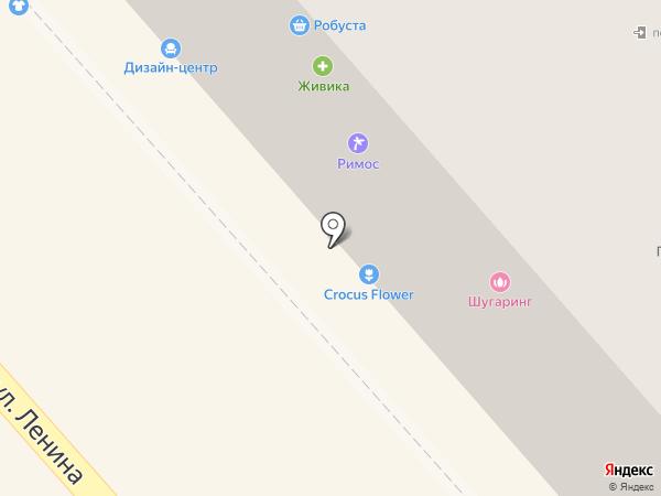 Робуста на карте Кургана