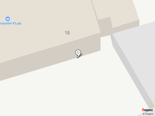 Кореец на карте Кургана