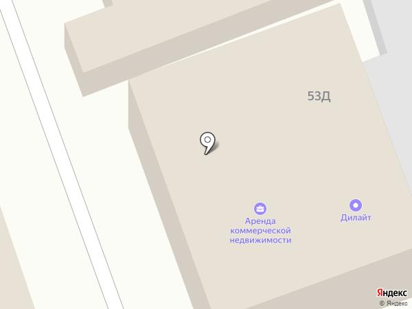 Дюйм 45 на карте Кургана