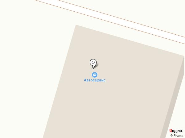 Шиномонтажная мастерская на карте Исетского