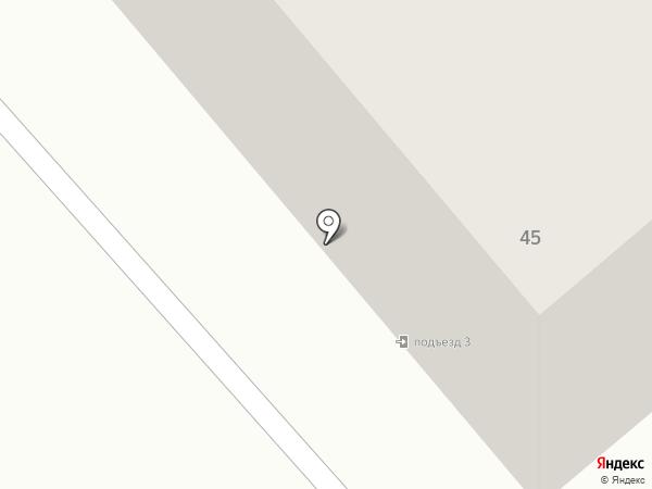 Колорит на карте Кургана
