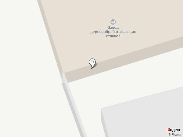 Курганский завод деревообрабатывающих станков на карте Кургана