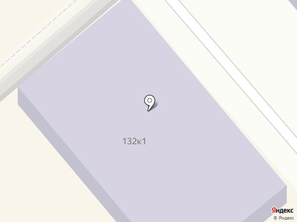 Курганская специальная (коррекционная) школа №8 на карте Кургана