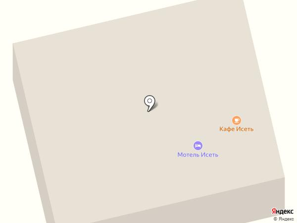 По-домашнему на карте Исетского