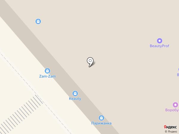 Клюква на карте Кургана