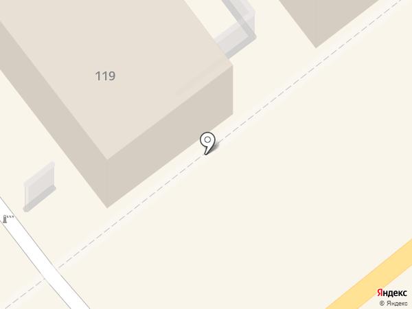 Военный комиссариат Курганской области на карте Кургана