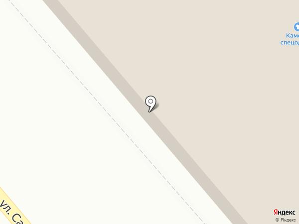 Максэл на карте Кургана