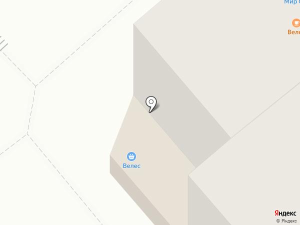 Велес на карте Кургана