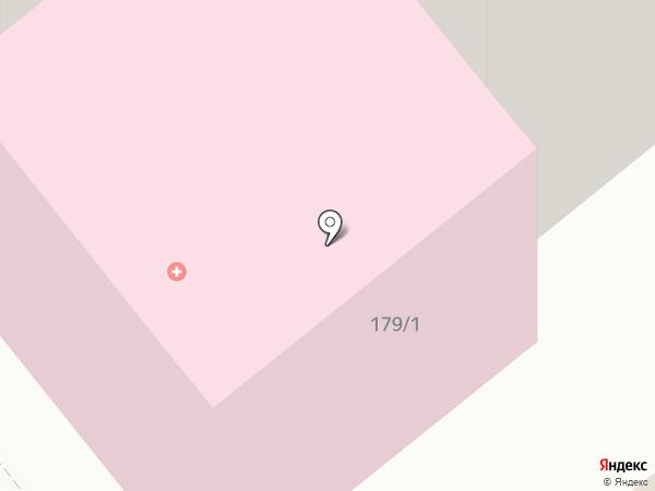 Курганская поликлиника №3 на карте Кургана
