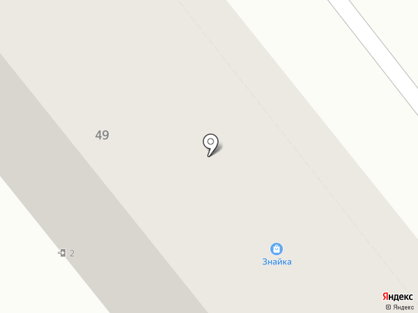 Знайка на карте Кургана